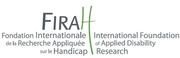 Funded by: International Foundation of Applied Disability Research (logo)