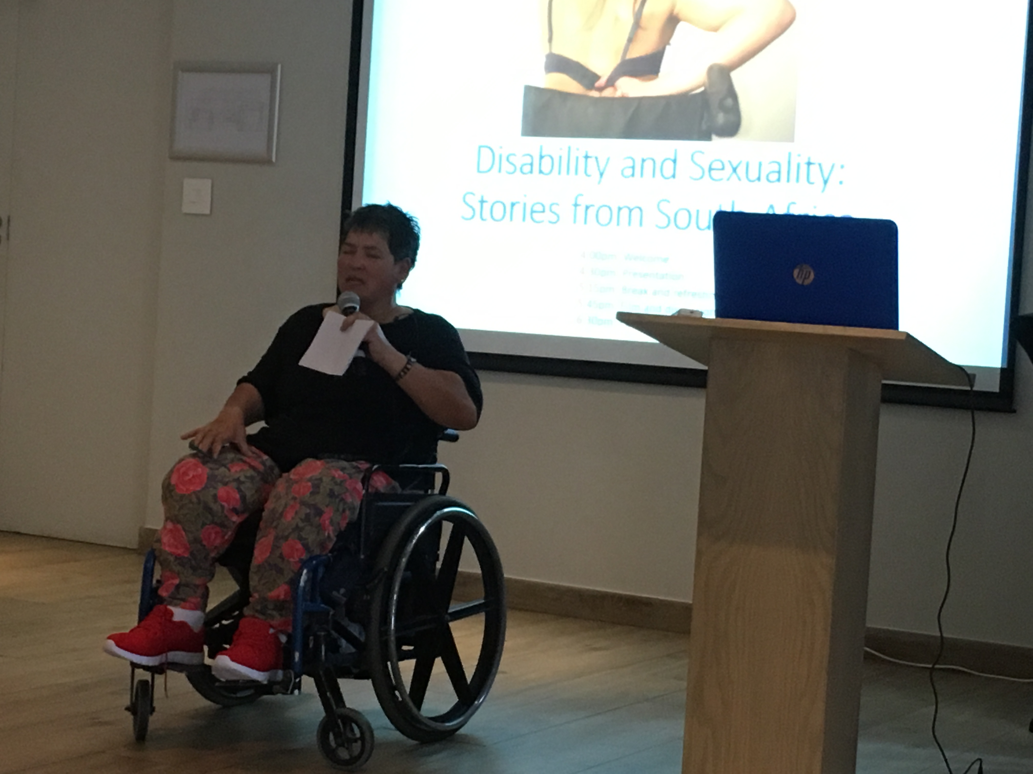 Disability and sexuality video