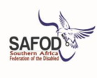 Collaborating partner: Southern Africa Federation of the Disabled (logo)