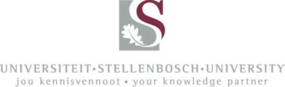Collaborating partner: Stellenbosch University (logo)